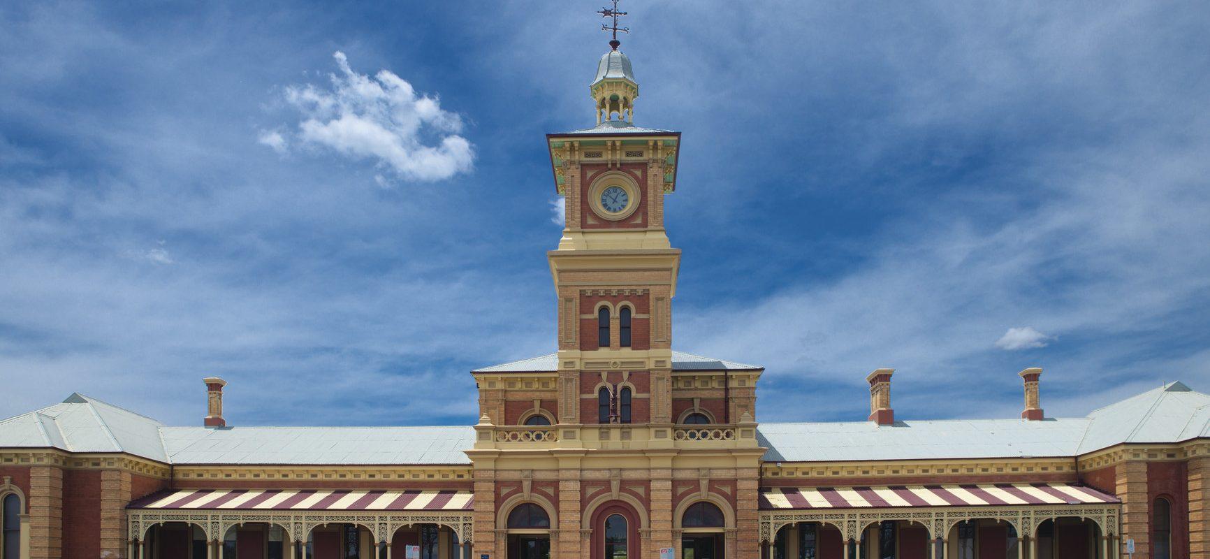 Albury historic Railway Station