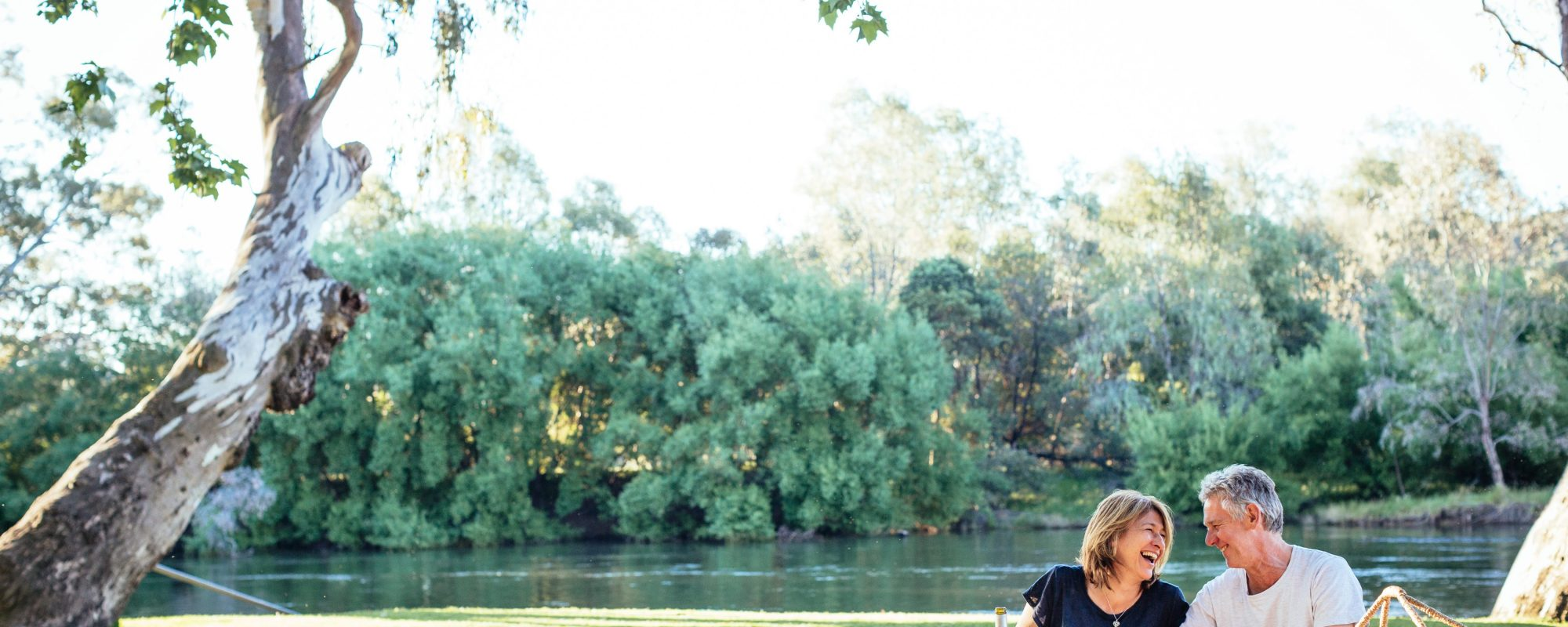 picnic by the Murray River