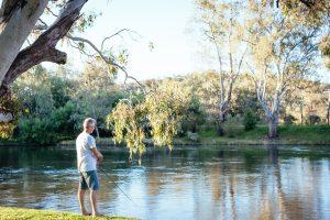 Fishing the Murray