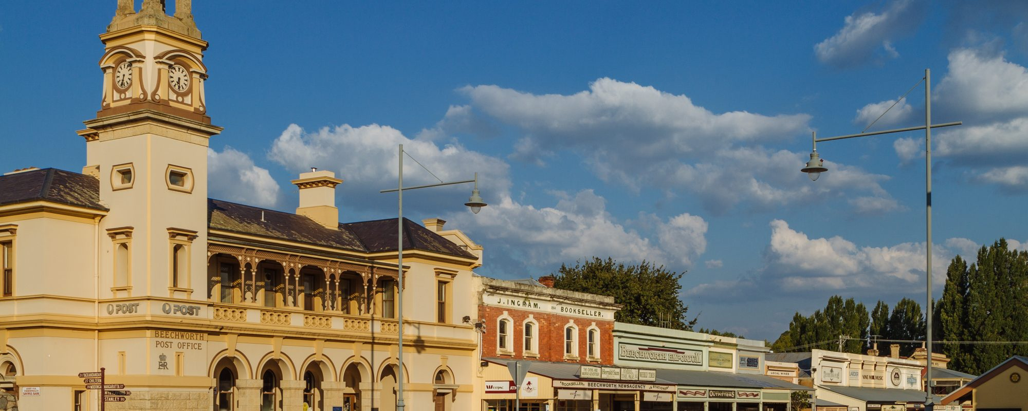 Beechworth's historic streetscape