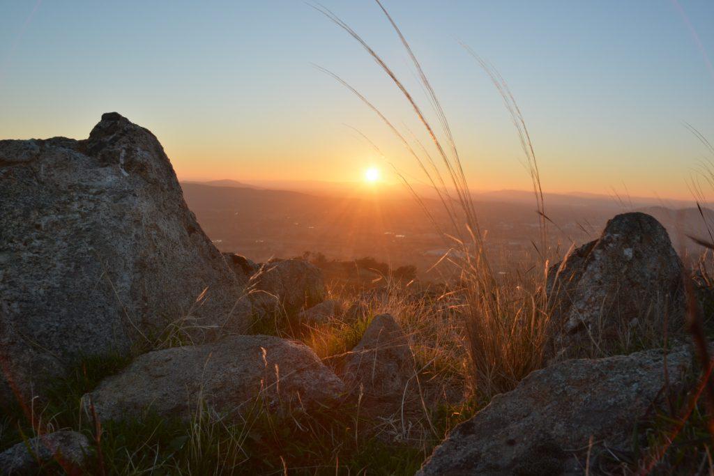 McFarlane's Hill, Wodonga - Sunrise